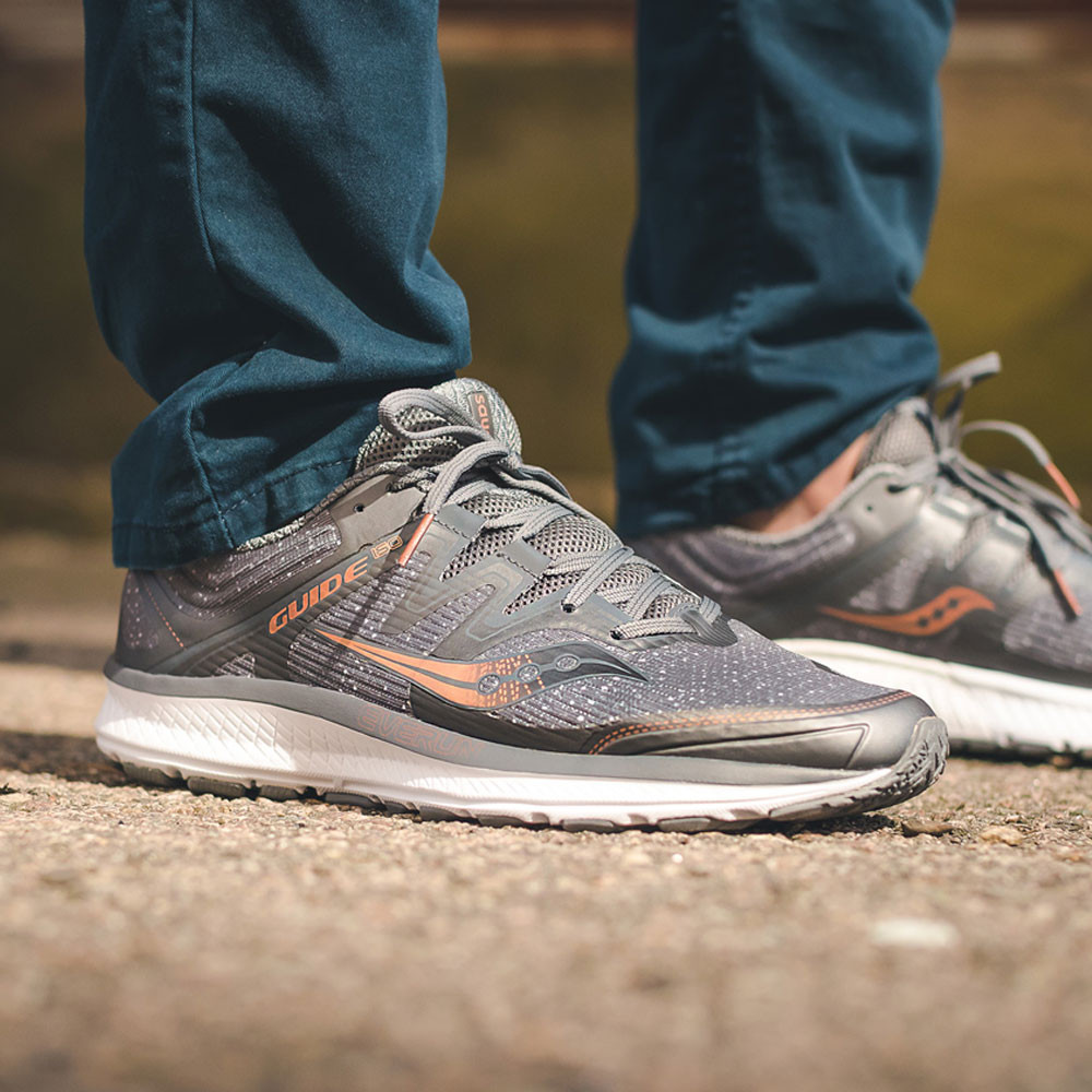 4c3fdac4fcdf Saucony Guide ISO Denim Running Shoes - 50% Off
