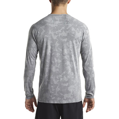 Saucony Negative-Split Jacquard Long Sleeve Running Top