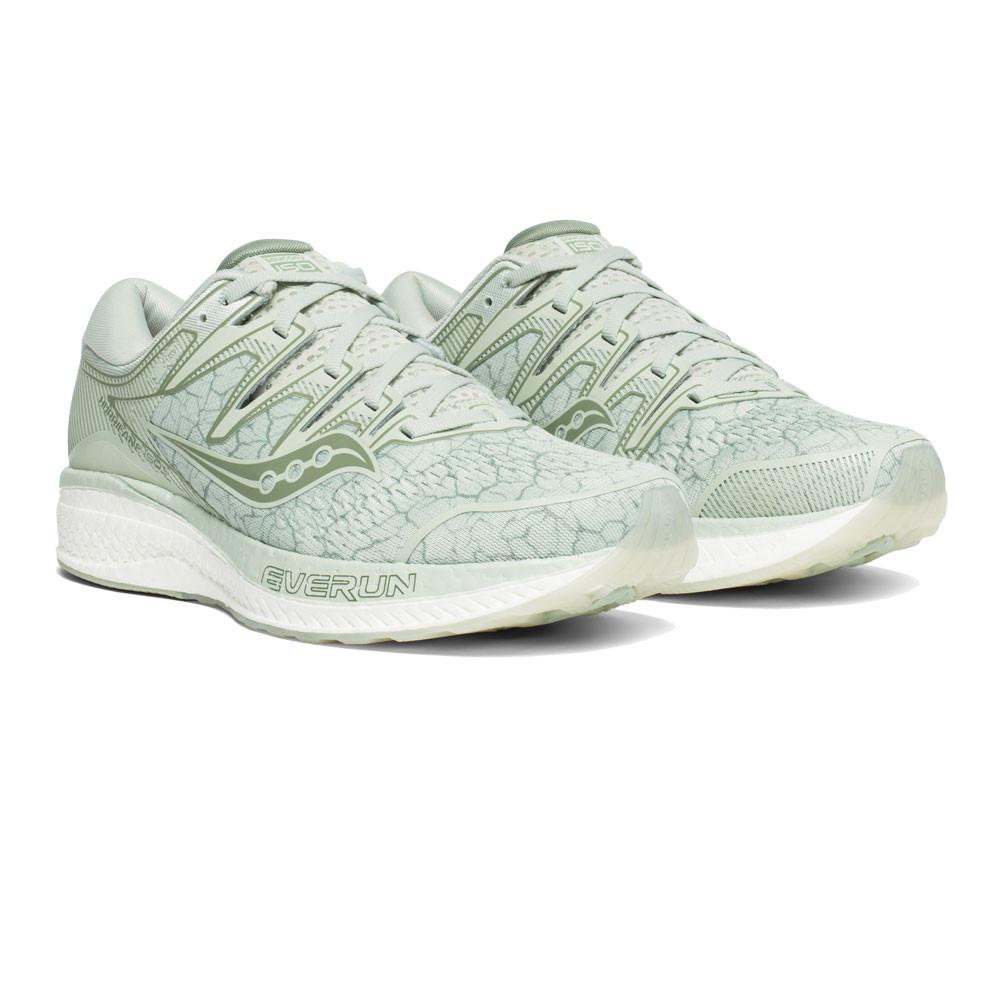 Dettagli su Saucony Donna Hurricane ISO 5 Scarpe Da Corsa Ginnastica Sport Sneakers Verde