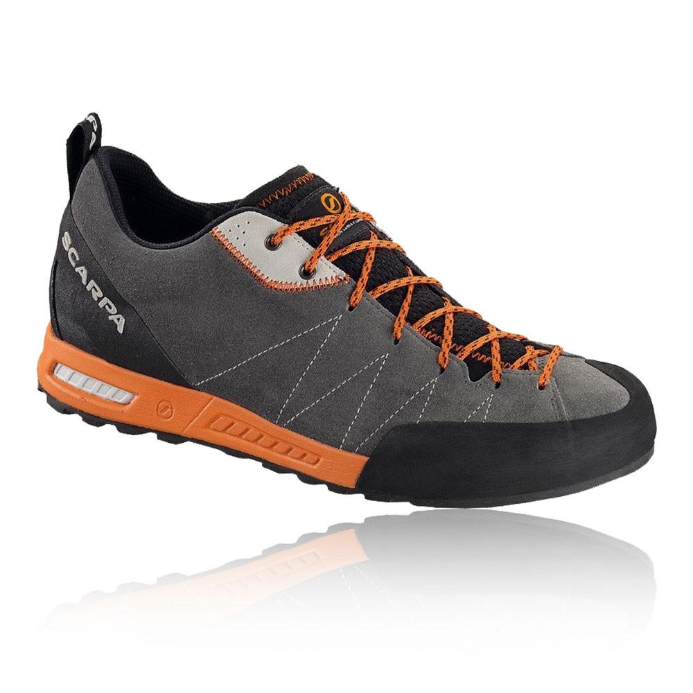 Scarpa Herren Gecko Approach Wanderschuhe Turnschuhe Grau Orange Sports Camping