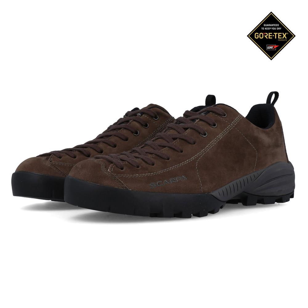ae1cbb12761 Scarpa Mens Mojito City GORE-TEX Walking Shoes Brown Sports Outdoors  Waterproof