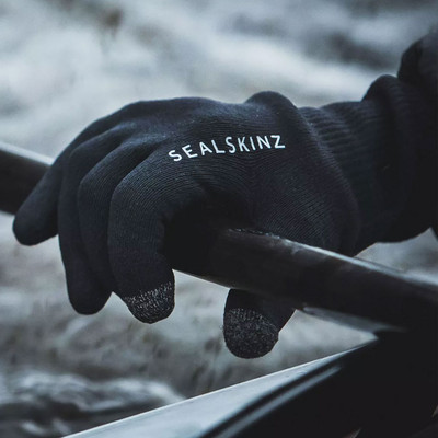 Sealskinz Waterproof All Weather Ultra Grip Knitted Gloves - AW20