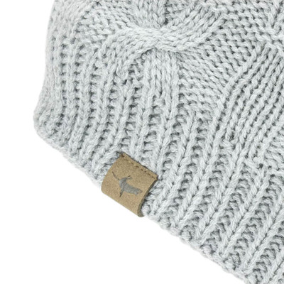 Sealskinz impermeable Cold Weather Cable Knit gorro - SS20