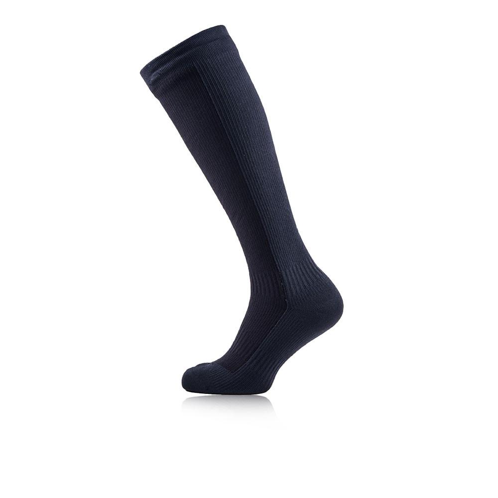7602b17eaf5 Details about SealSkinz Mens Navy Blue Waterproof Mid Knee Outdoors Walking  Hiking Socks