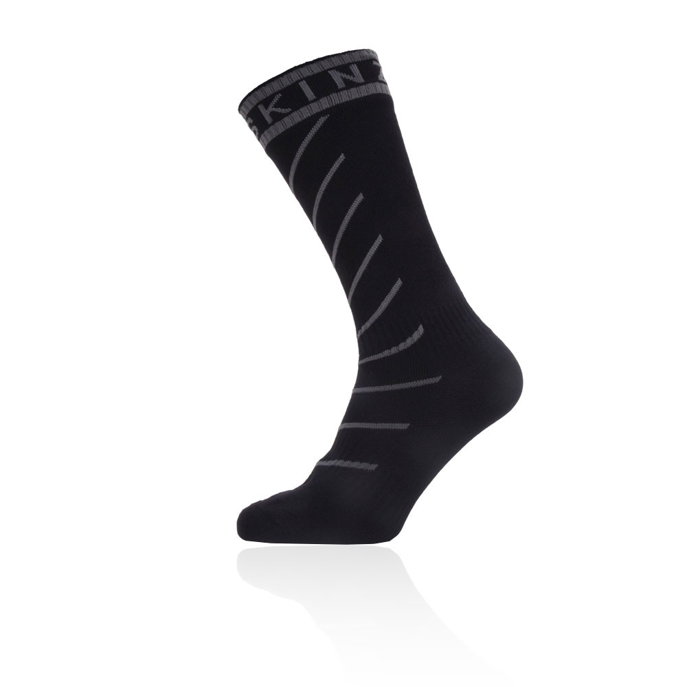 Sealskinz Waterproof Warm Weather Mid Length Socks With Hydrostop - AW19