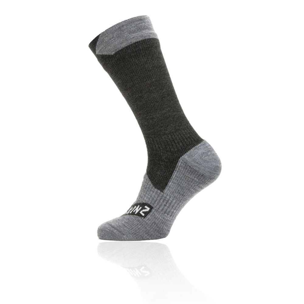 Sealskinz impermeable All Weather Mid Length calcetines - SS20