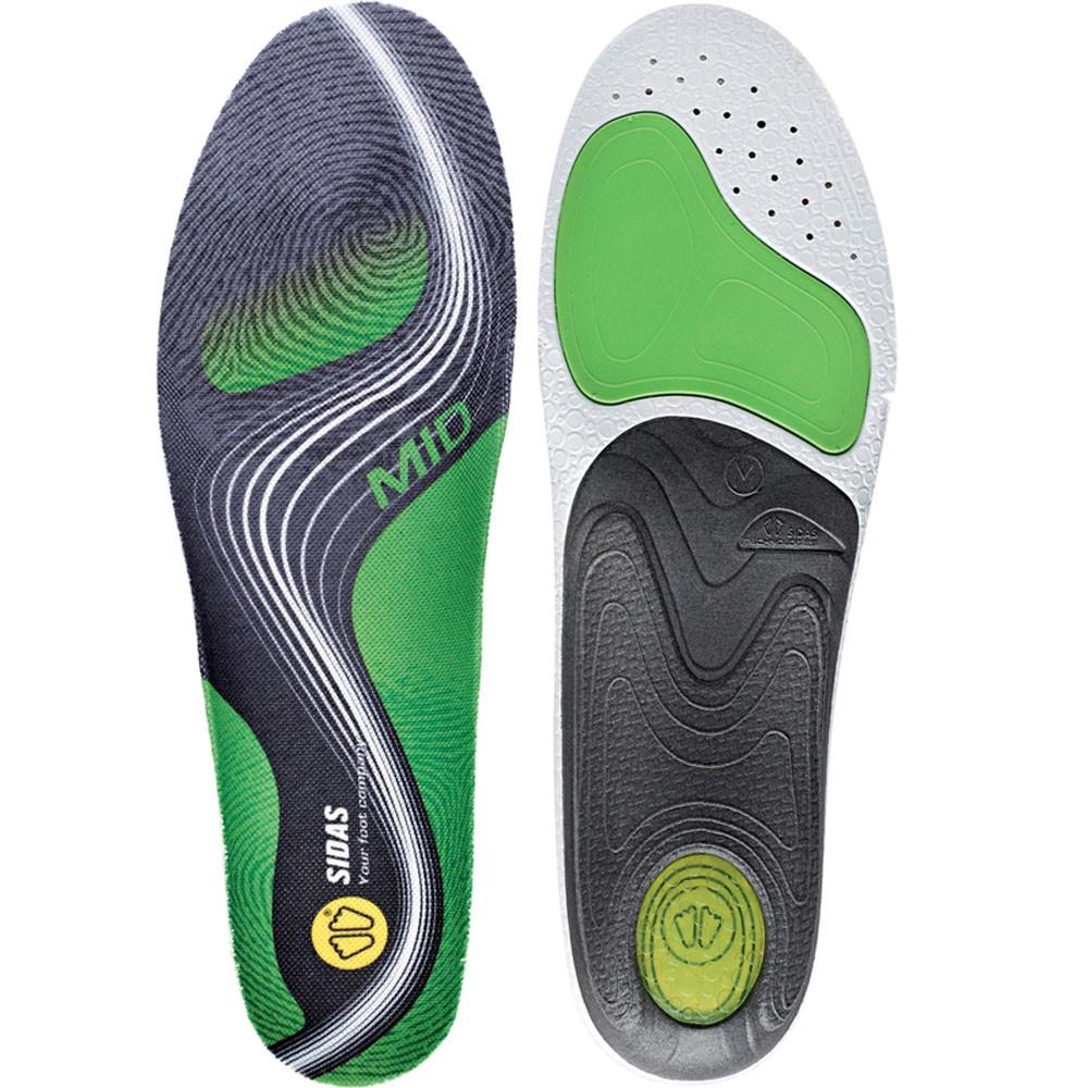 Sidas Unisex Activ' Activ' Unisex Mid Arch Ergonomic Schuhe Insoles Grün Grau Sports Gym de1554