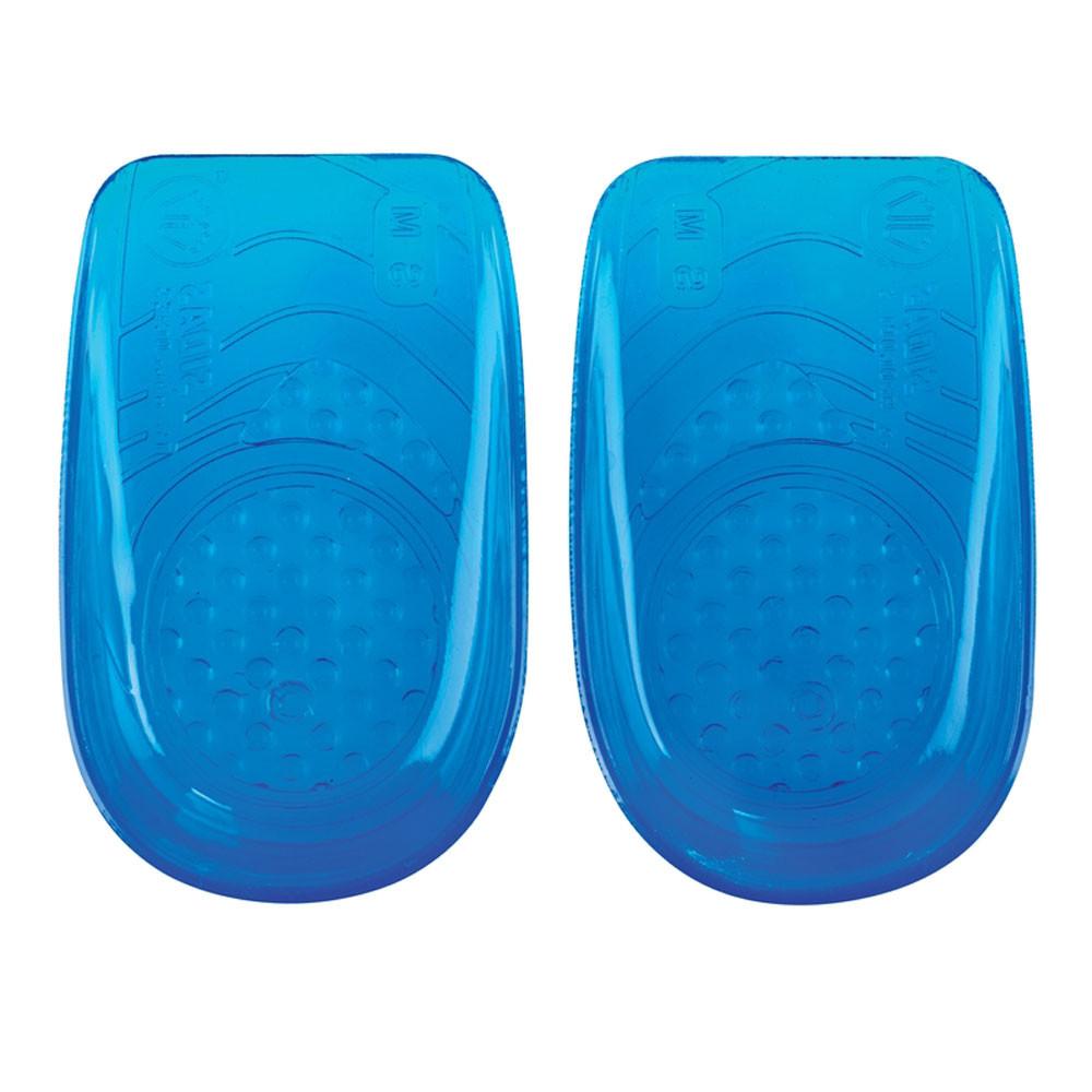 Di Larghe Vedute Sidas Unisex Gel Heel Cups Blu Sport Da Palestra All'aperto In Esecuzione-