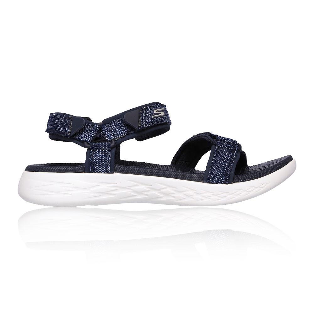 Skechers Femmes On The Go 600 Radiant Chaussures De Sport Sandales Outdoor Bleu gB5pnZ