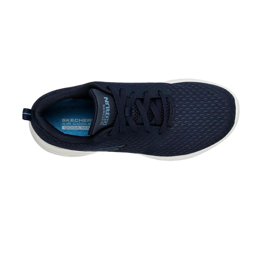 Detalles de Skechers Mujer Gorun 600 Circulate Entrenar Gimnasio Zapatos Azul Marino Deporte