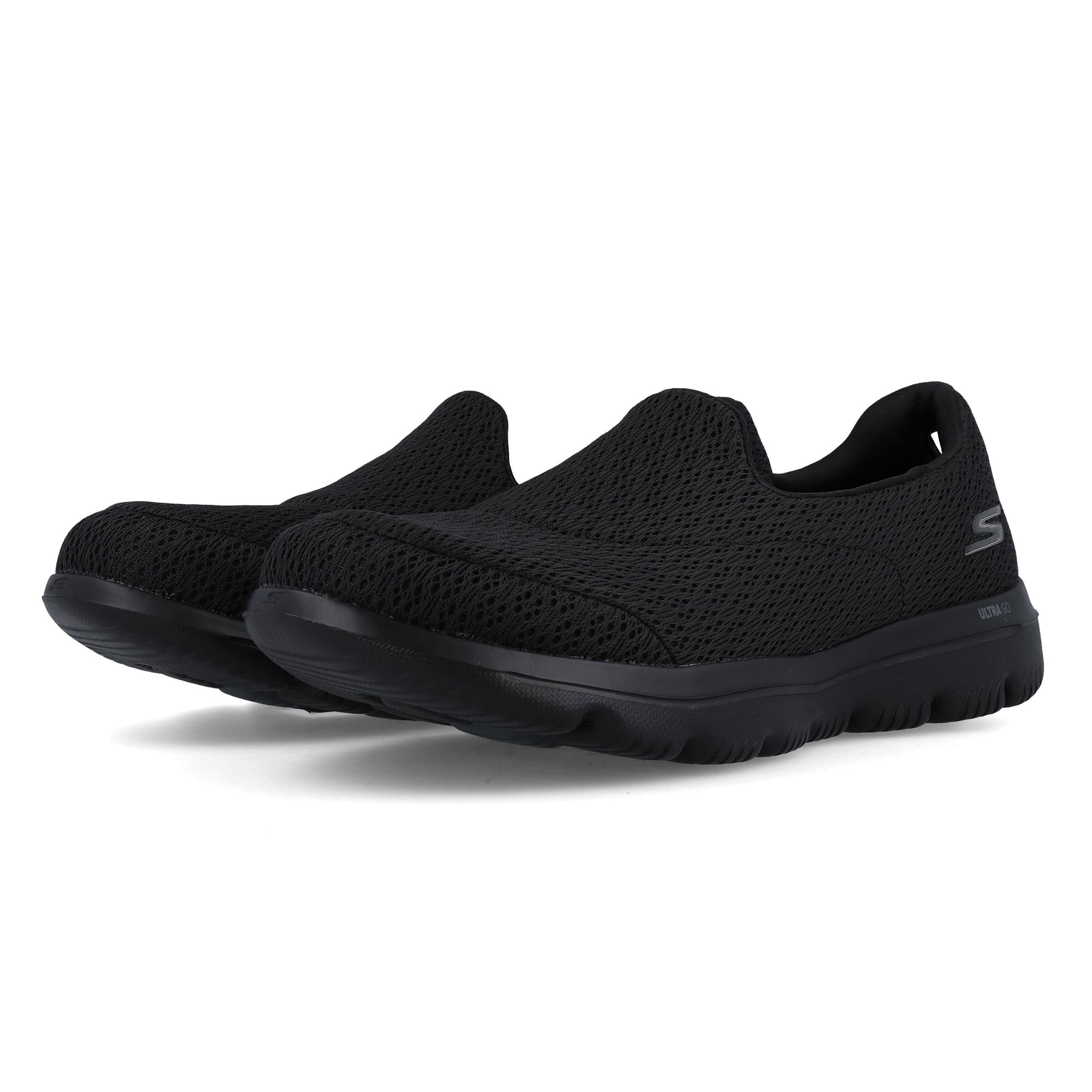 Dettagli su Skechers Donna GOwalk Evolution Ultra Scarpe Nero Sport Outdoor Traspirante