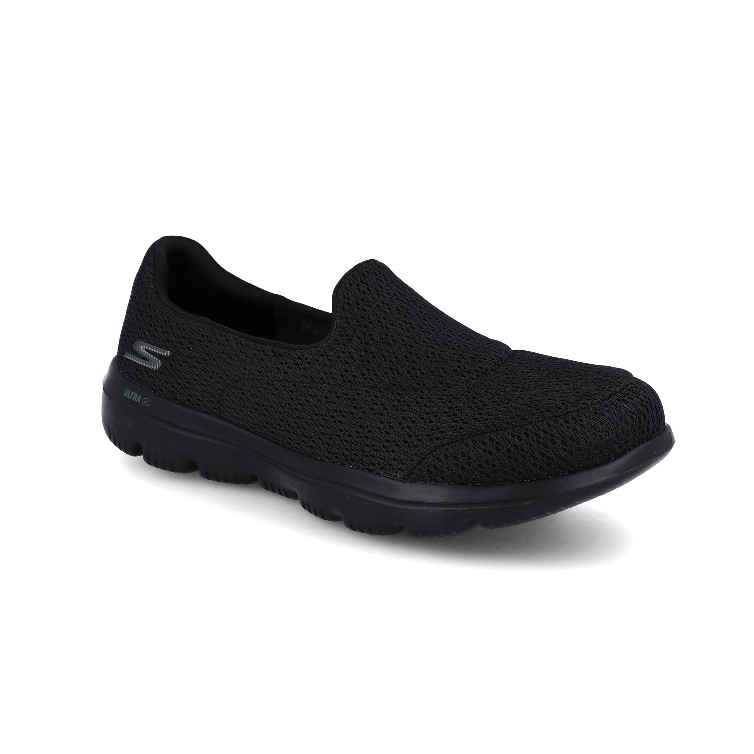 Skechers Femme Gowalk Evolution Ultra Chaussures Violet Sports Extérieur Respirant