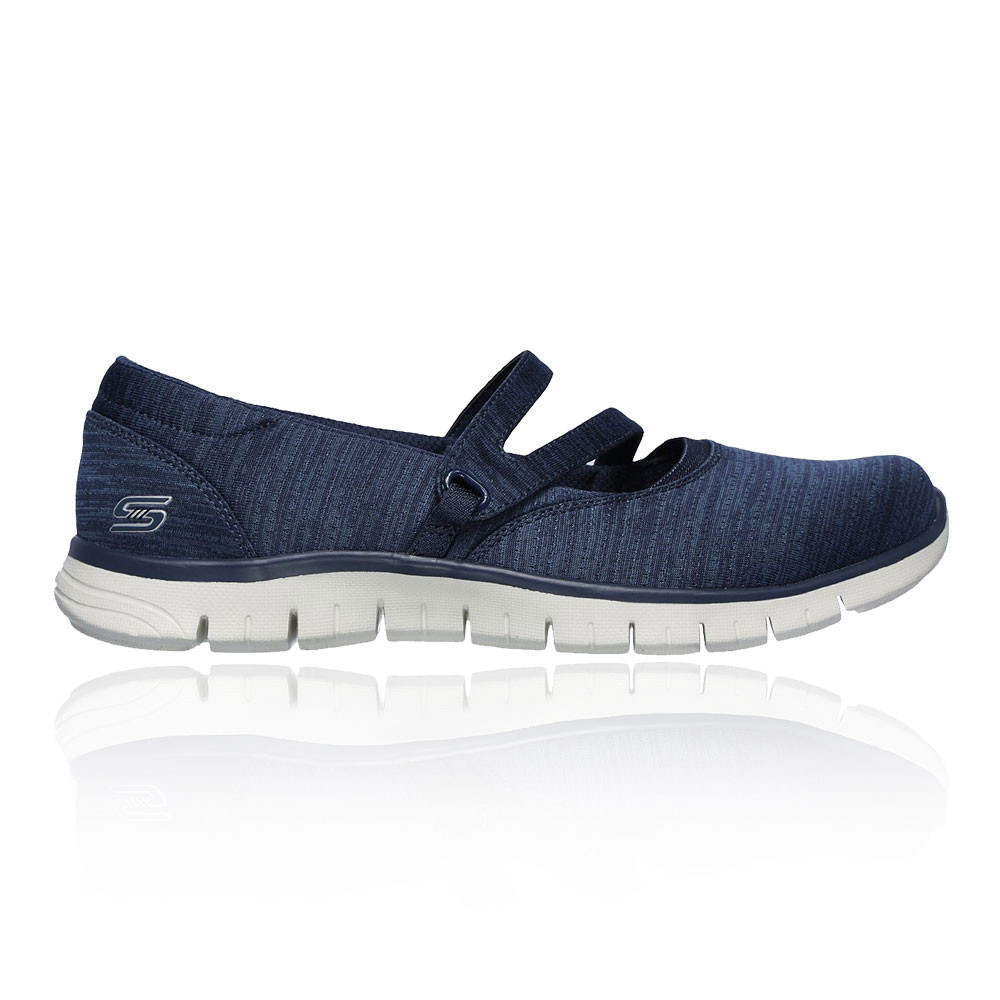 Details zu Skechers Damen EZ Flex Renew Make It Count Sneaker Ballerinas Schuhe Marineblau