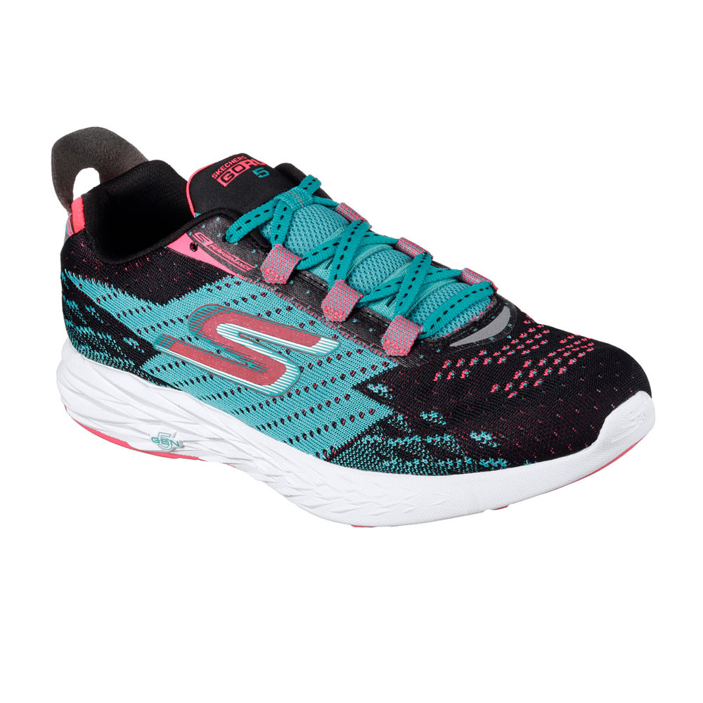 skechers go run 5 womens running shoes aw17 40 off. Black Bedroom Furniture Sets. Home Design Ideas