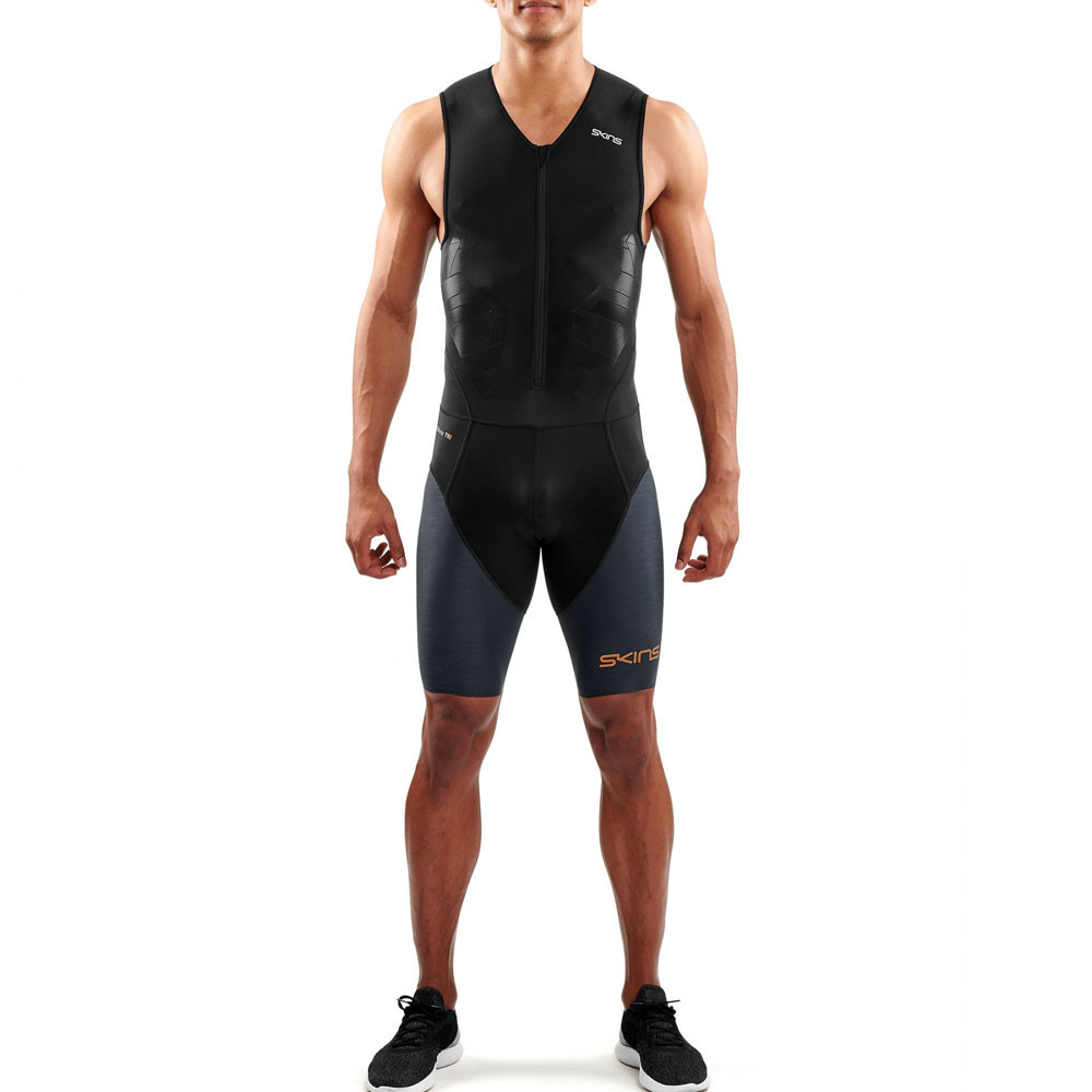 Skins DNAmic Trisuit With Front cremallera