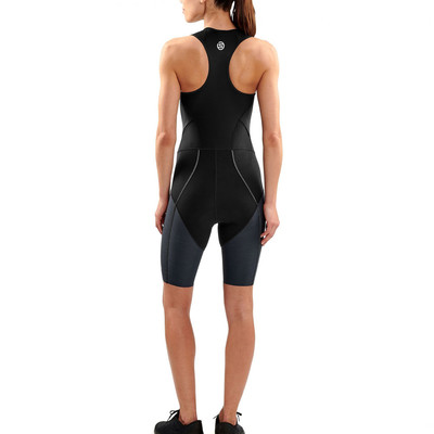 Skins DNAmic para mujer Trisuit With Front cremallera