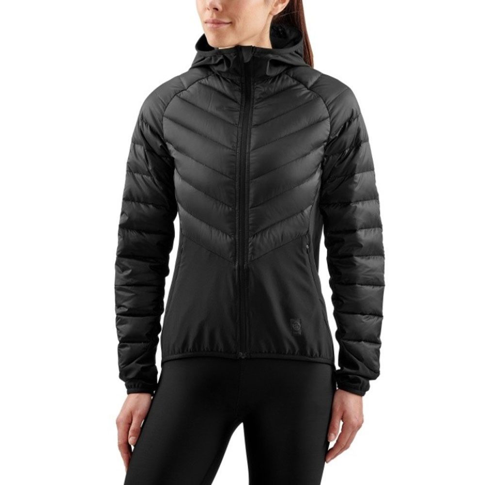 168d9dd4791 Skins Activewear Women's Ultra Mapped Light Down Jacket | SportsShoes.com