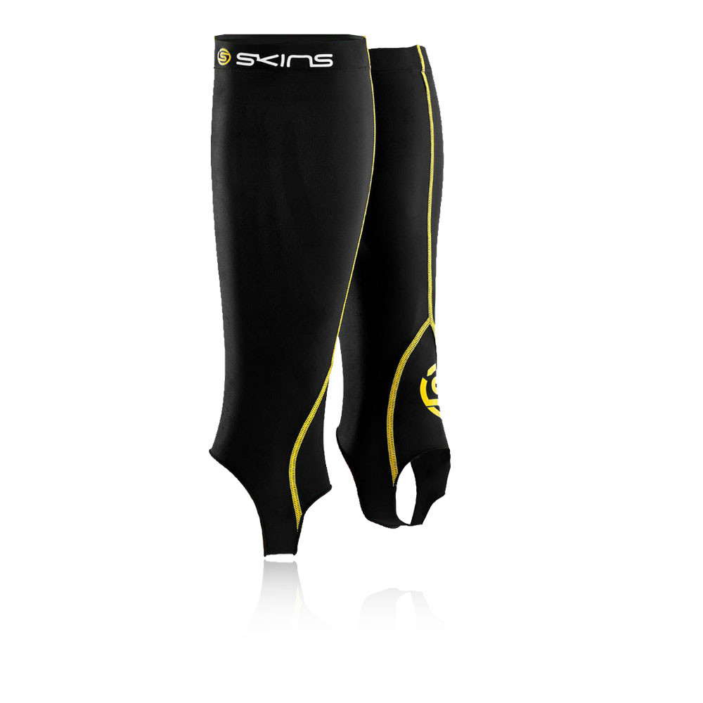 Skins Essential Compression Calf Tights with Stirrups