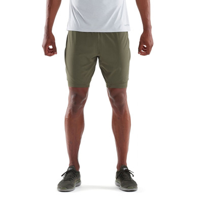 Skins DNAmic Core Superpose compression 2in1 shorts