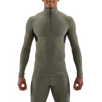 Skins DNAmic Thermal Mock Neck Compression Top