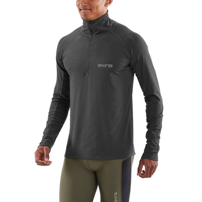 Skins Activewear Unden Light Midlayer Men's Long Sleeve Top