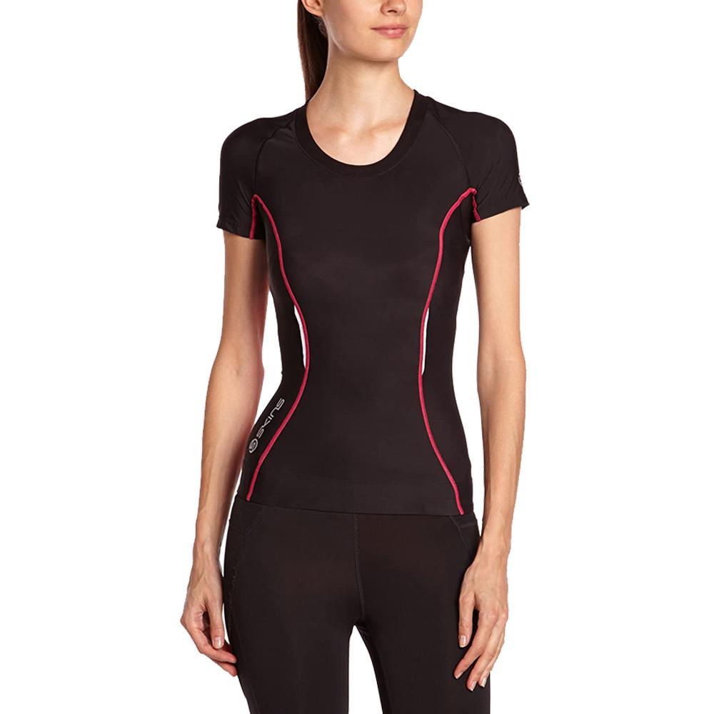 SKINS compression manche courte femmes T-Shirt
