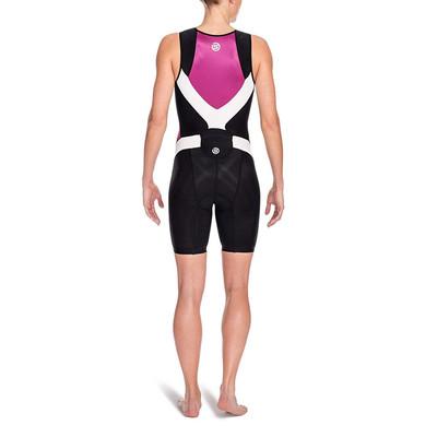 Skins TRI400 demi zip compression femmes TriSuit