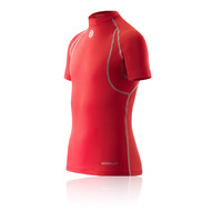 Skins Carbonyte Junior Short Sleeve Baselayer Top