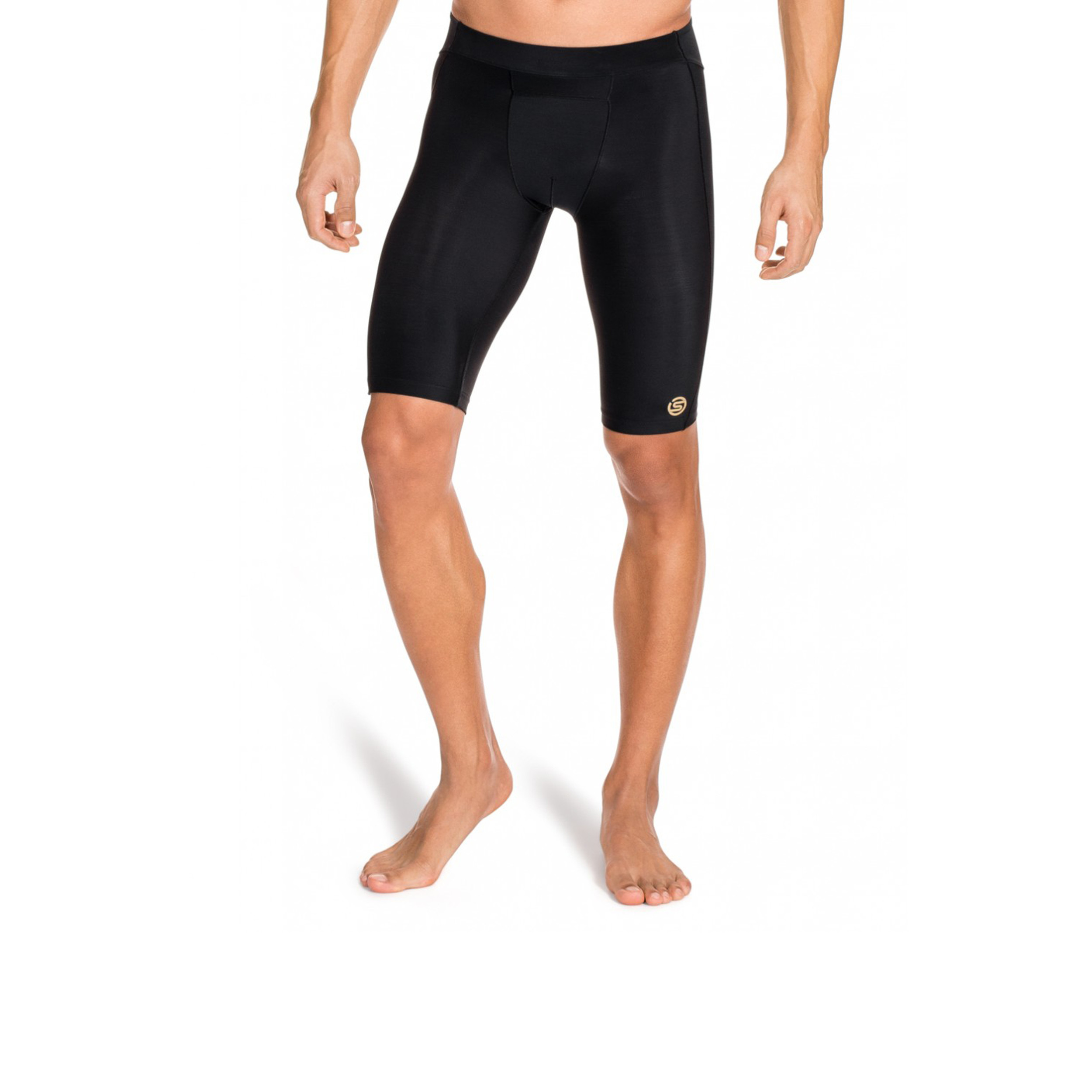 Skins Homme Bio A400 Compression Tight Shorts Pantalon Pantalon noir sport