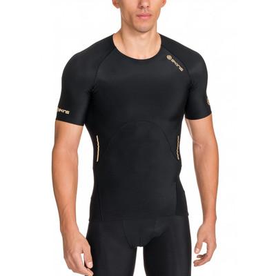 Skins A400 Short Sleeve Compression Running T-Shirt