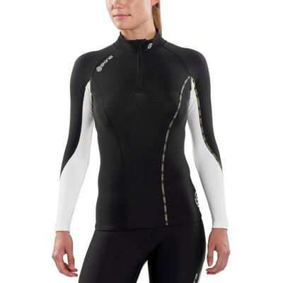 Skins DNAmic Thermal Mock Neck 1/2 Zip Women's Top