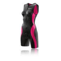 Skins TRI400 Women's Triathlon Sleeveless Suit With Front Zip