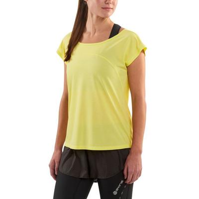 Skins Activewear Women's Code Cap Sleeve  T-Shirt