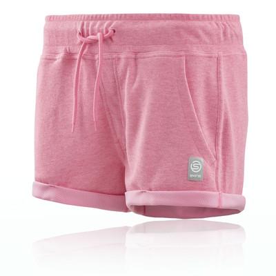 Skins Activewear Women's Fitness Output Sport Fleece Shorts