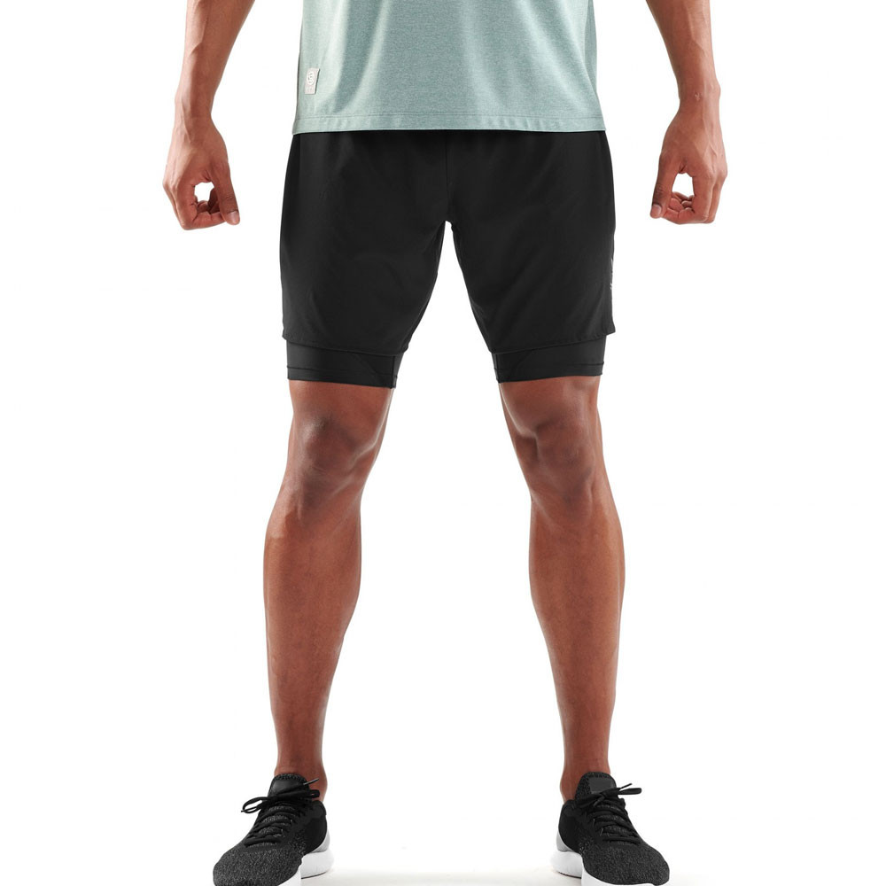 3f84352ea4869 Skins DNAmic Superpose 2in1 Shorts | SportsShoes.com