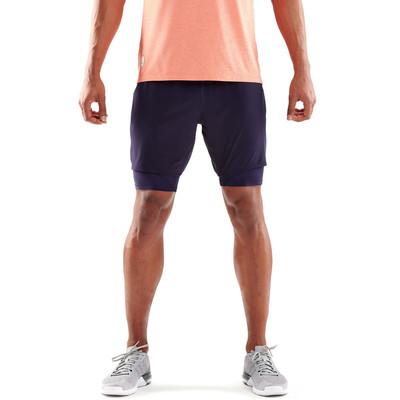 Skins DNAmic Superpose 2in1 pantalones cortos