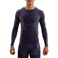 Skins DNAmic Men's Compression Long Sleeve Top
