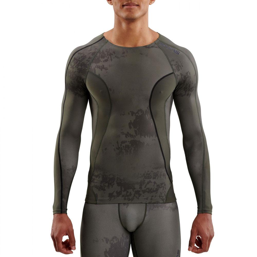 Skins DNAmic Men's compressione manica lunga Top