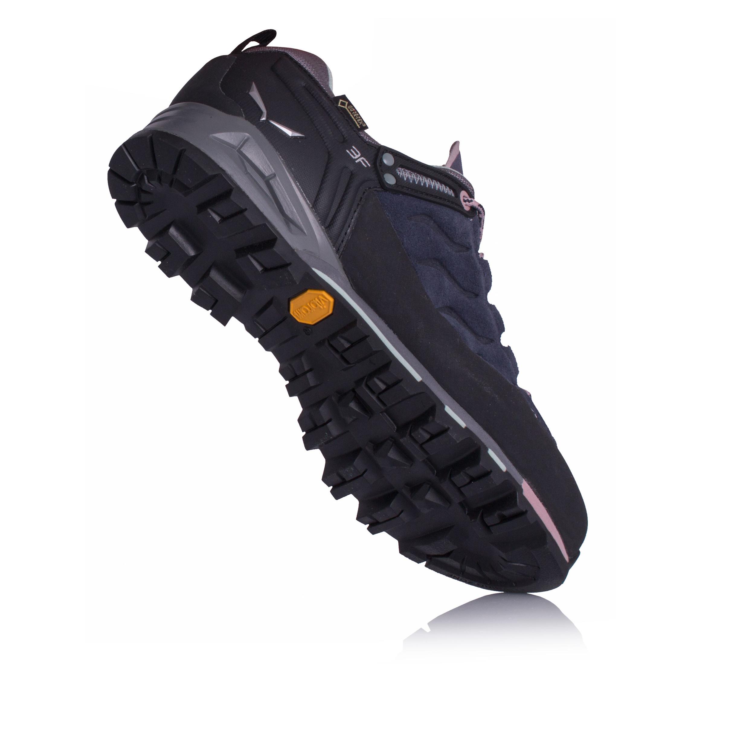 Salewa Womens Mountain Trainer GORE-TEX Trail Shoes Trainers Sports Blue 34c369753b8