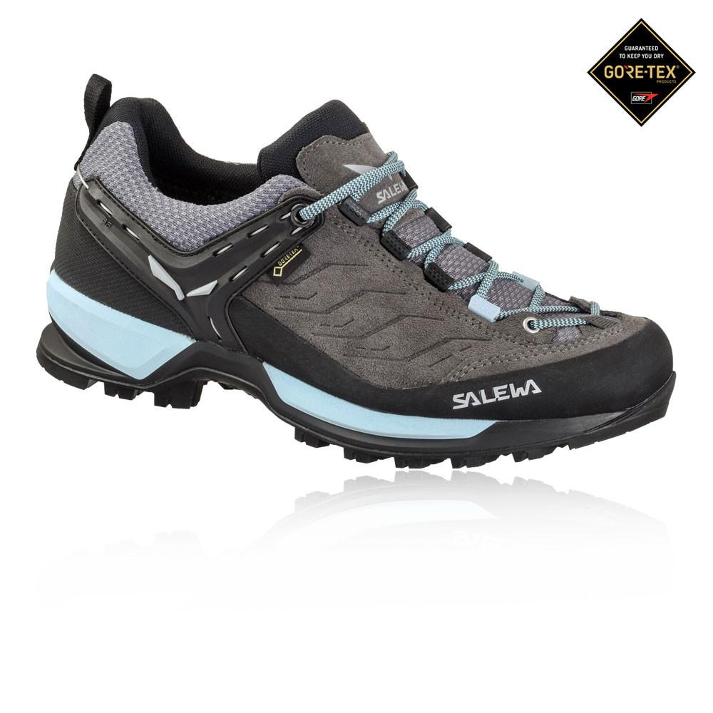 the latest 7fbaf 58fab Details zu Salewa Damen Mountain Trainer GORE-TEX Wanderschuhe Trekking  Outdoor Schuhe Grau