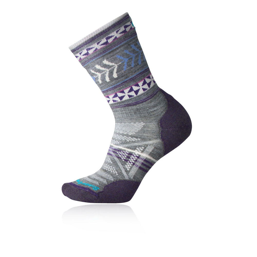 Smartwool PhD Outdoor Light Pattern para mujer Crew calcetines