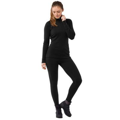 Smartwool Merino 250 1/4 cremallera para mujer de manga larga baselayer