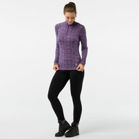 Smartwool Merino 250 Pattern 1/4 Zip Women's Long Sleeve Baselayer - AW18