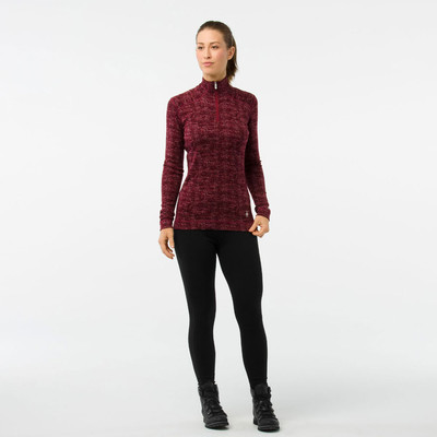 Smartwool Merino 250 Pattern 1/4 Zip Women's Long Sleeve Baselayer