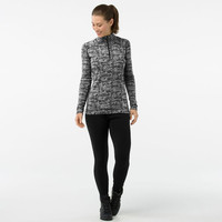 Smartwool Merino 250 Pattern 1/4 Zip Women's Long Sleeve Baselayer - AW18