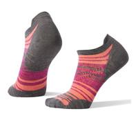 Smartwool PhD Run Ultra Light Striped Women's Micro Socks - SS19