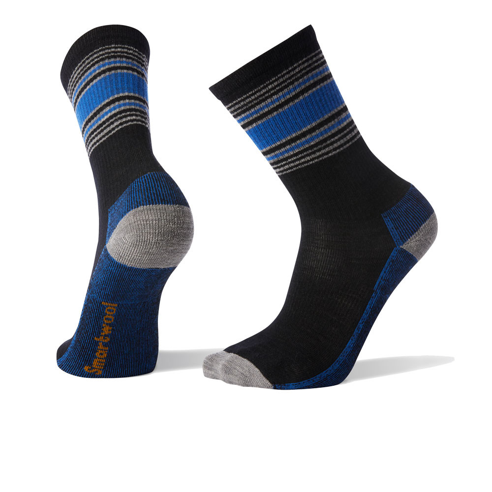 Smartwool Hike Striped Light Crew Socks