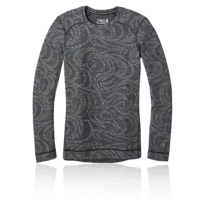 Smartwool Merino 250 Baselayer Pattern Women's Crew Top - AW19