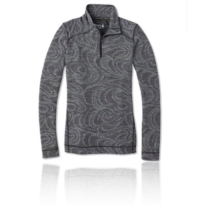 Smartwool Merino 250 Baselayer Pattern Women's Half Zip Top - AW19