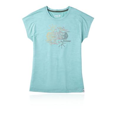 Smartwool Merino Sport 150 Mountain Reflection Women's T-Shirt - SS20